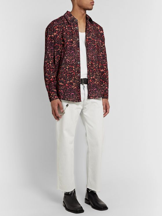 Our Legacy Coco Printed Cotton-Corduroy Shirt