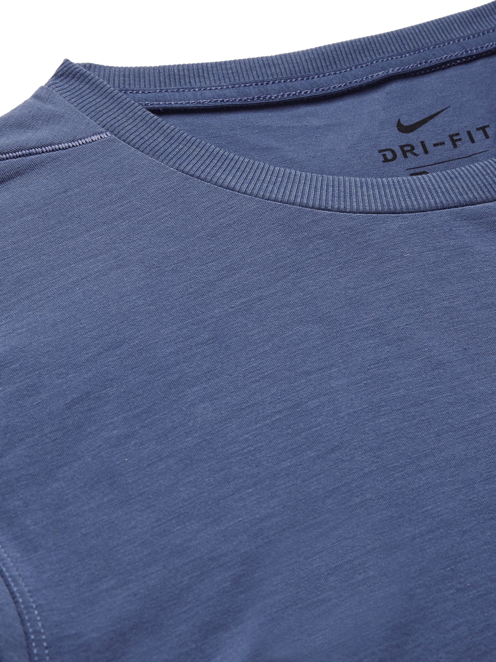 Nike Training Transcend Slim-Fit Dri-FIT T-Shirt