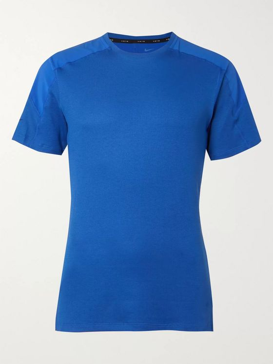 Nike Training Slim-Fit Panelled Dri-FIT T-Shirt
