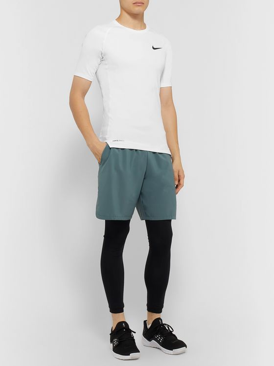 Nike Training Pro Slim-Fit Mesh-Panelled Dri-FIT T-Shirt