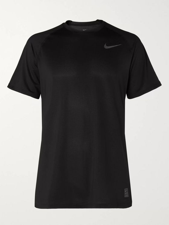 Nike Training Pro Mesh-Panelled Dri-FIT Breathe T-Shirt