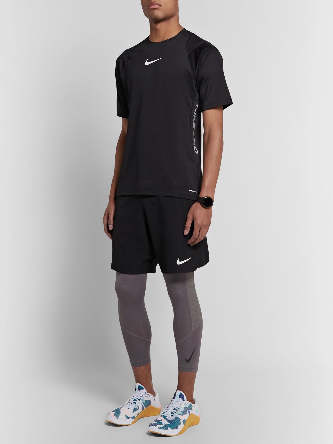 Nike Sneakers METCON 5 RUBBER-TRIMMED MESH SNEAKERS