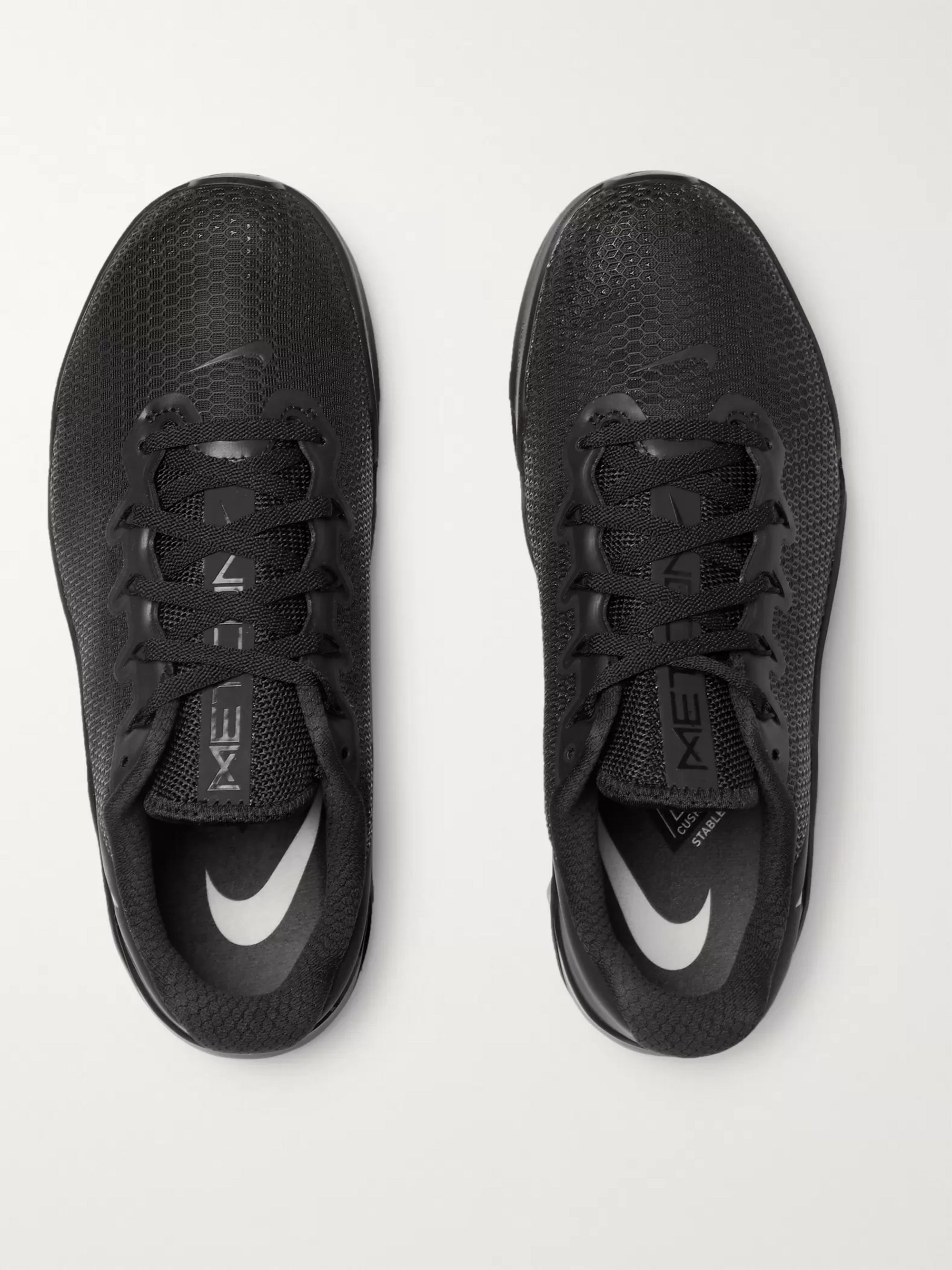 Nike Training Metcon 5 Rubber-Trimmed Mesh Sneakers