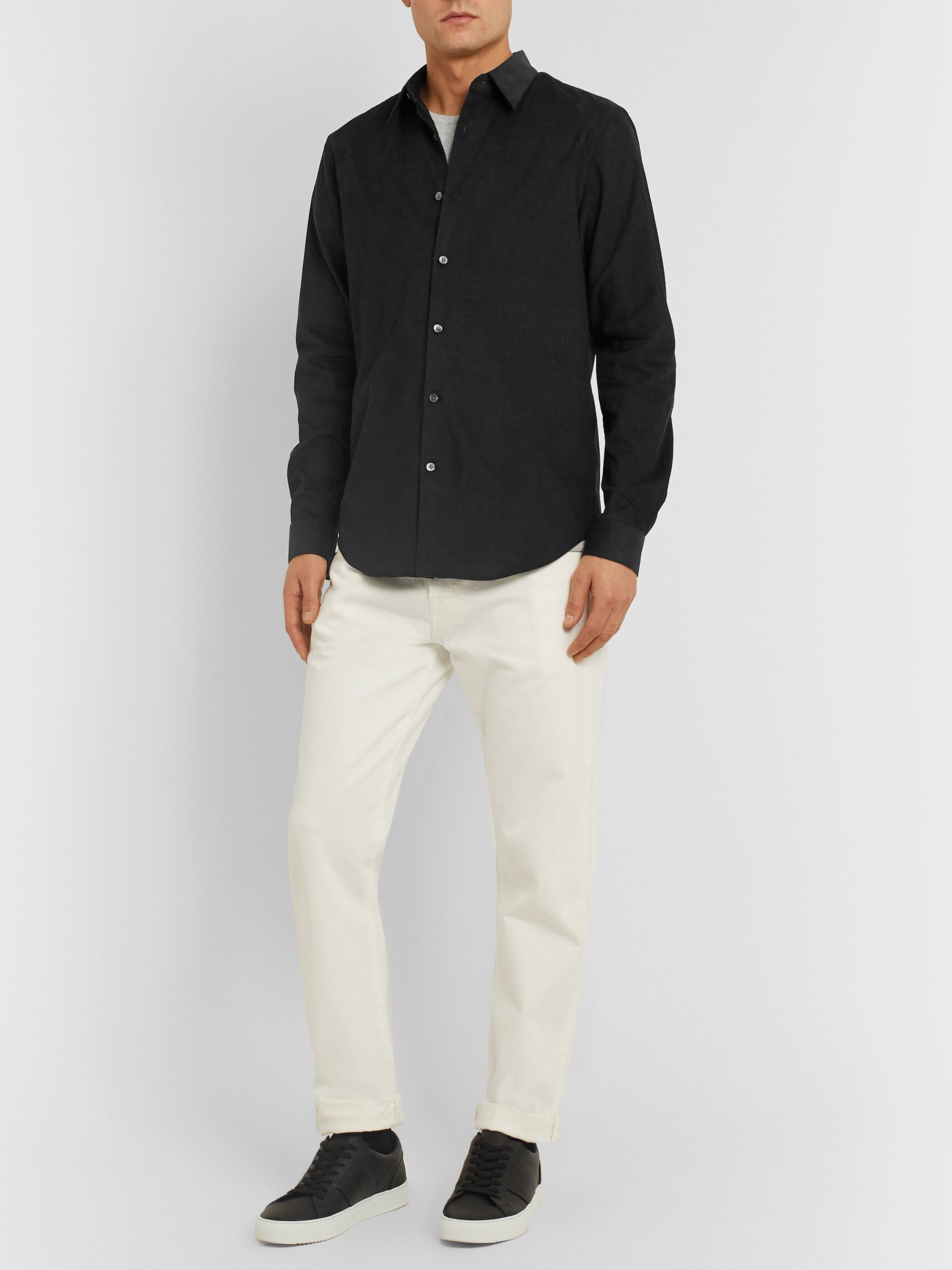 Theory Irving Cotton-Corduroy Shirt