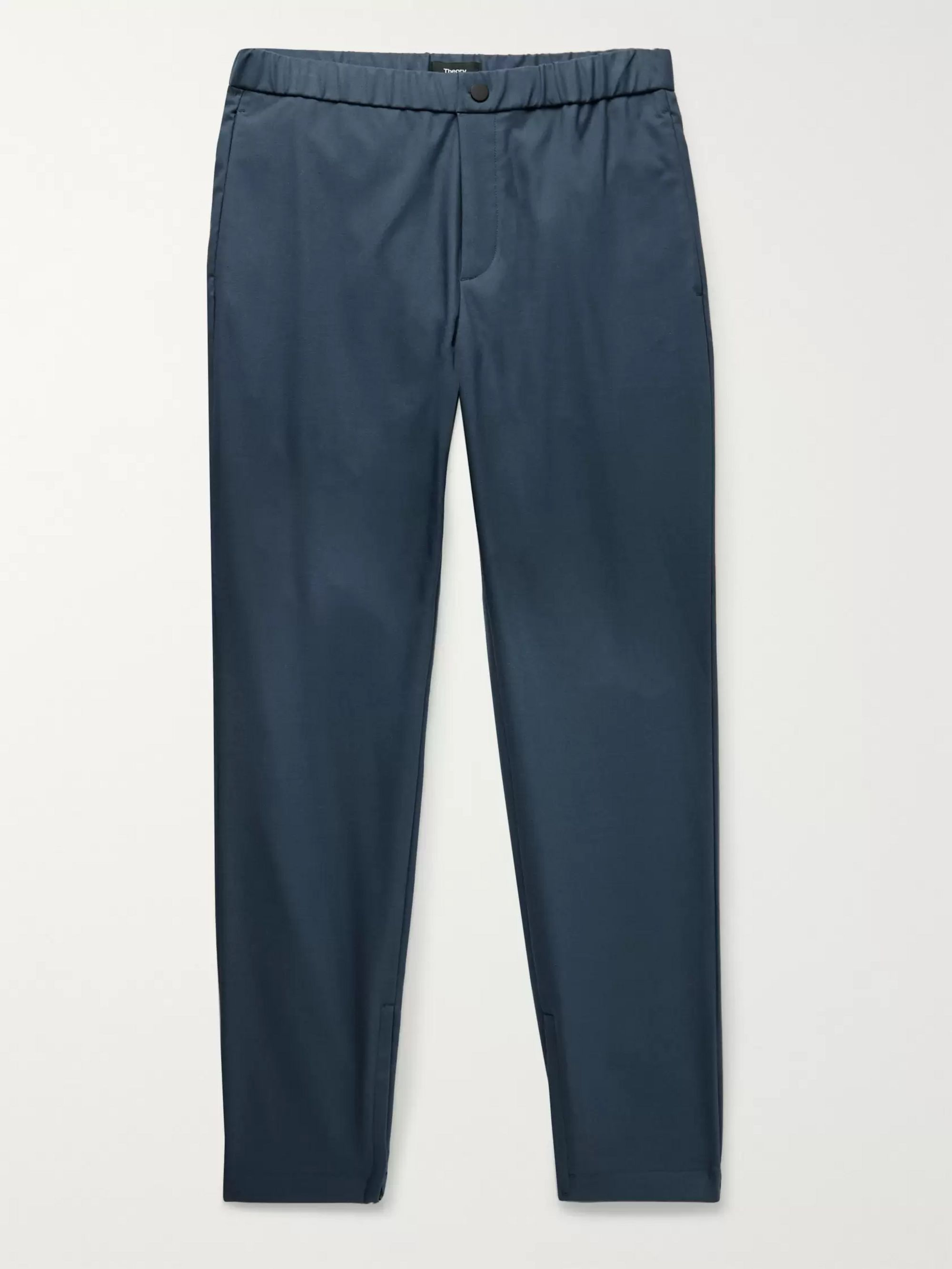 Theory Terrance Tapered Woven Trousers