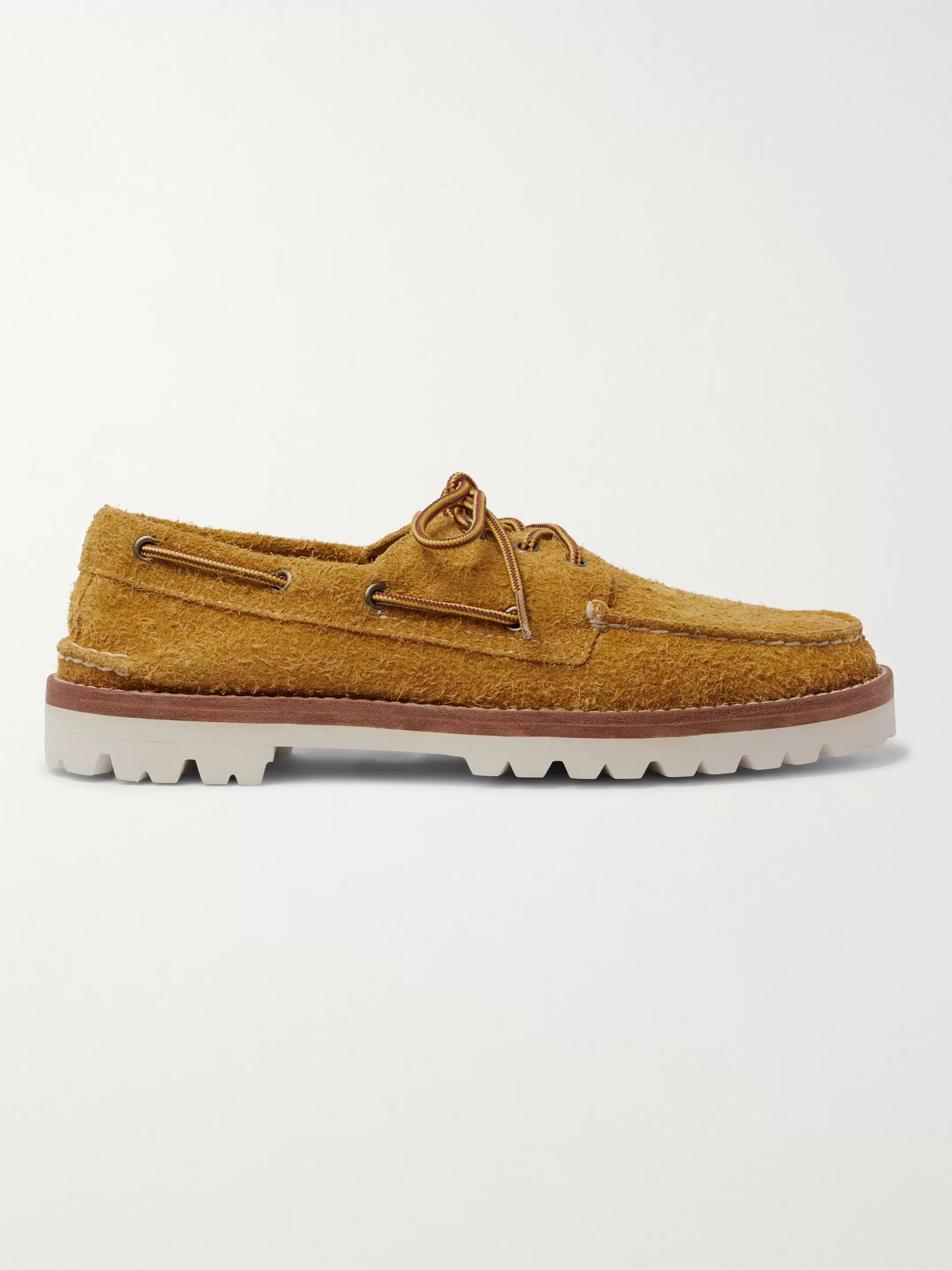 Sperry Authentic Original Brushed-Suede Boat Shoes