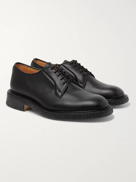 Tricker's Robert Suede Derby Shoes