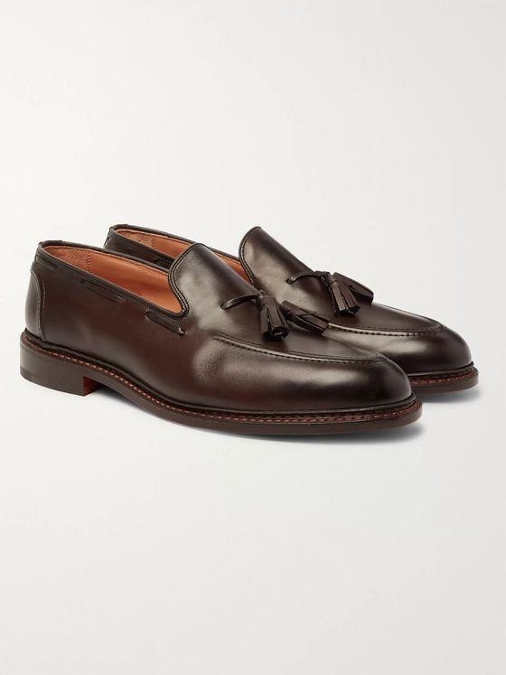 Tricker's Elton Leather Tasselled Loafers