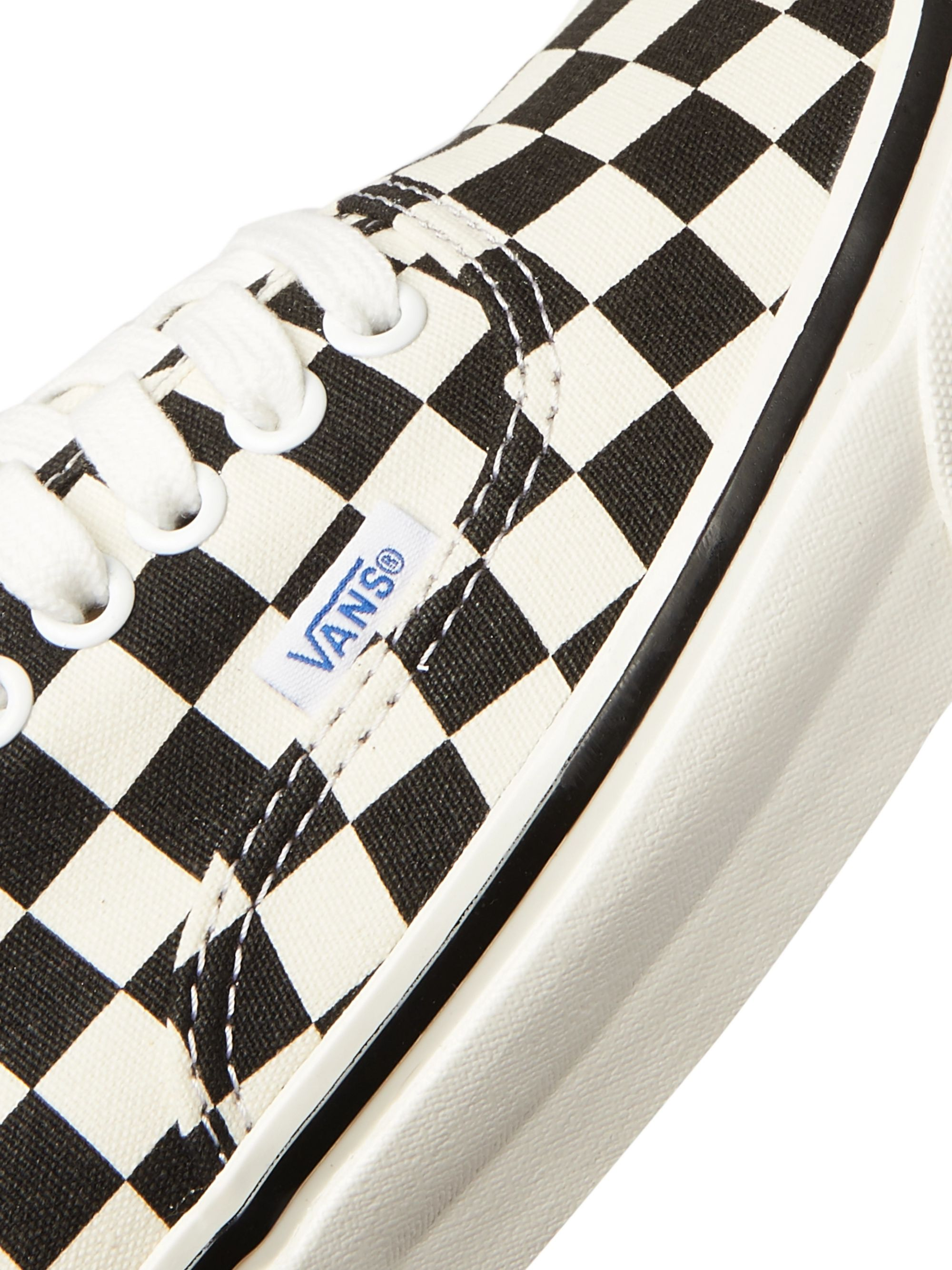 Vans Anaheim Authentic 44 DX Checkerboard Canvas Sneakers