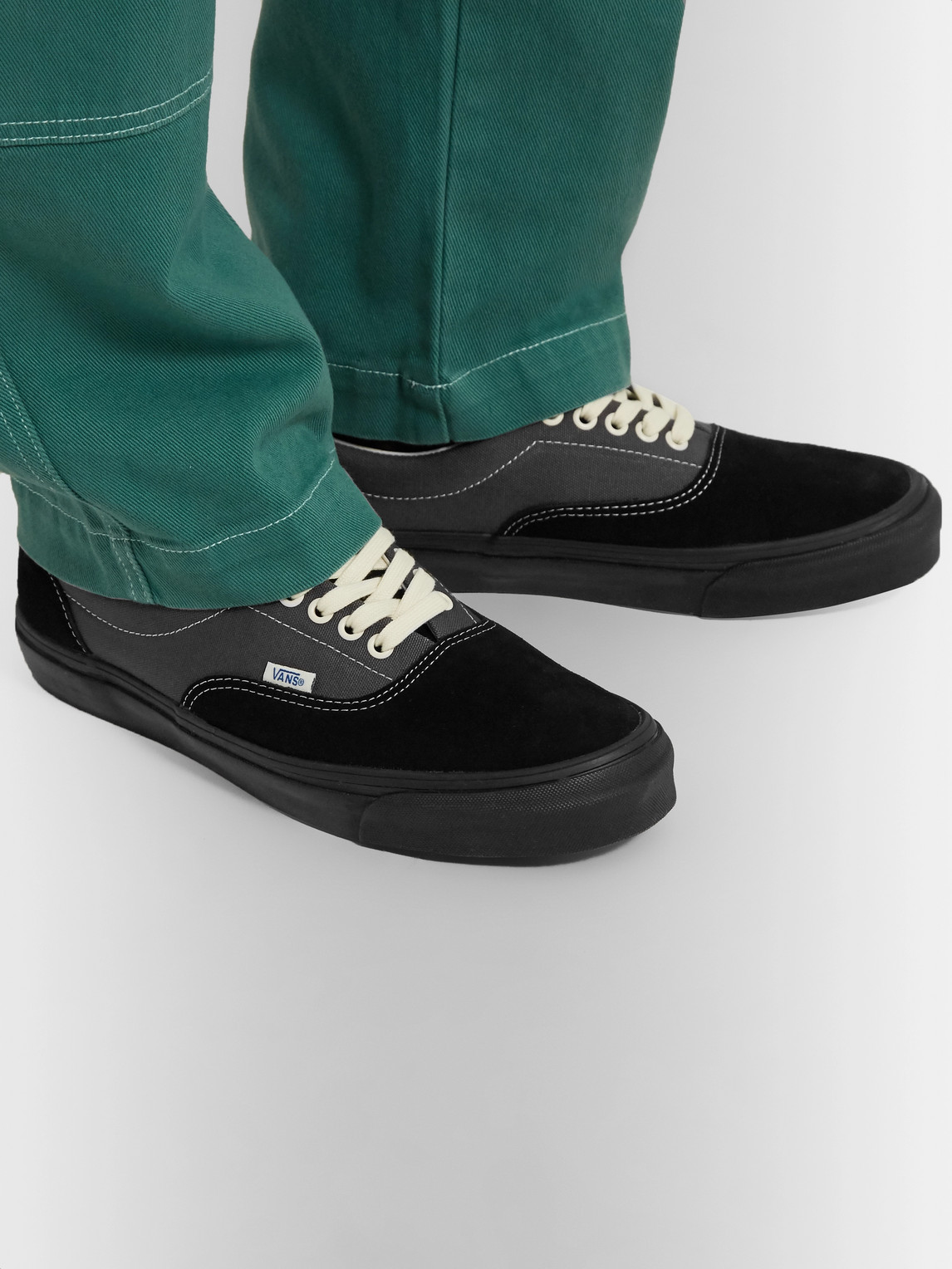 Vans Sneakers OG ERA LX COLOUR-BLOCK CANVAS AND SUEDE SNEAKERS