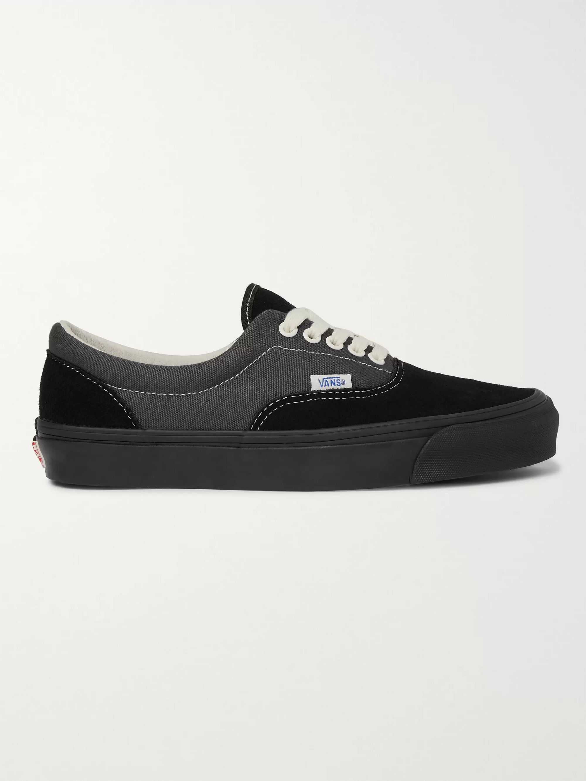 Vans OG Era LX Colour-Block Canvas and Suede Sneakers