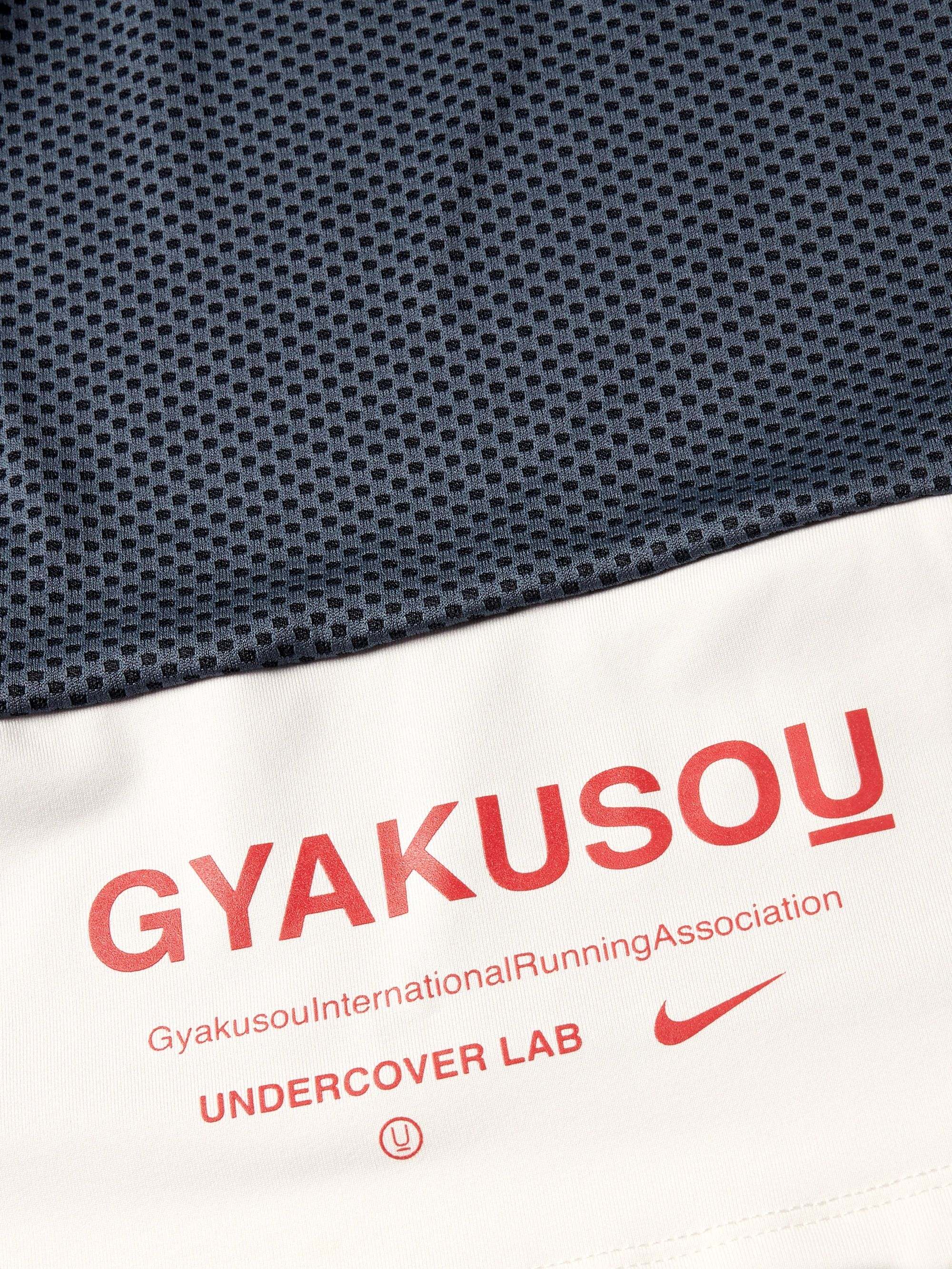 Nike x Undercover + GYAKUSOU NRG Printed Dri-FIT and Mesh Running T-Shirt