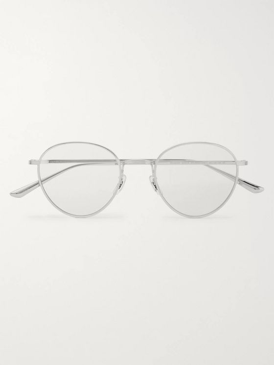 The Row + Oliver Peoples Brownstone 2 Round-Frame Titanium Optical Glasses