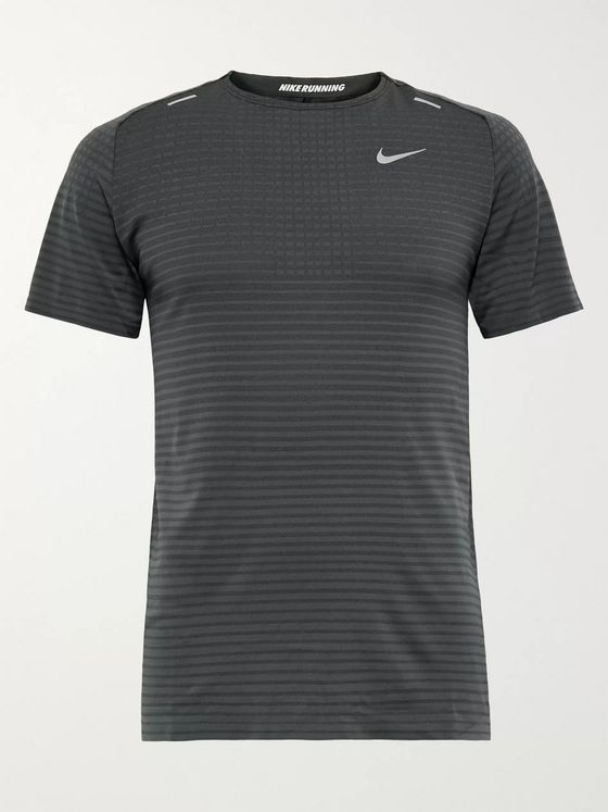 Nike Running Ultra Striped TechKnit T-Shirt