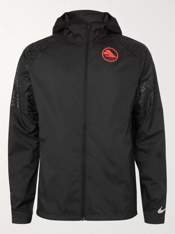 Nike Running Essential Printed Shell Running Jacket