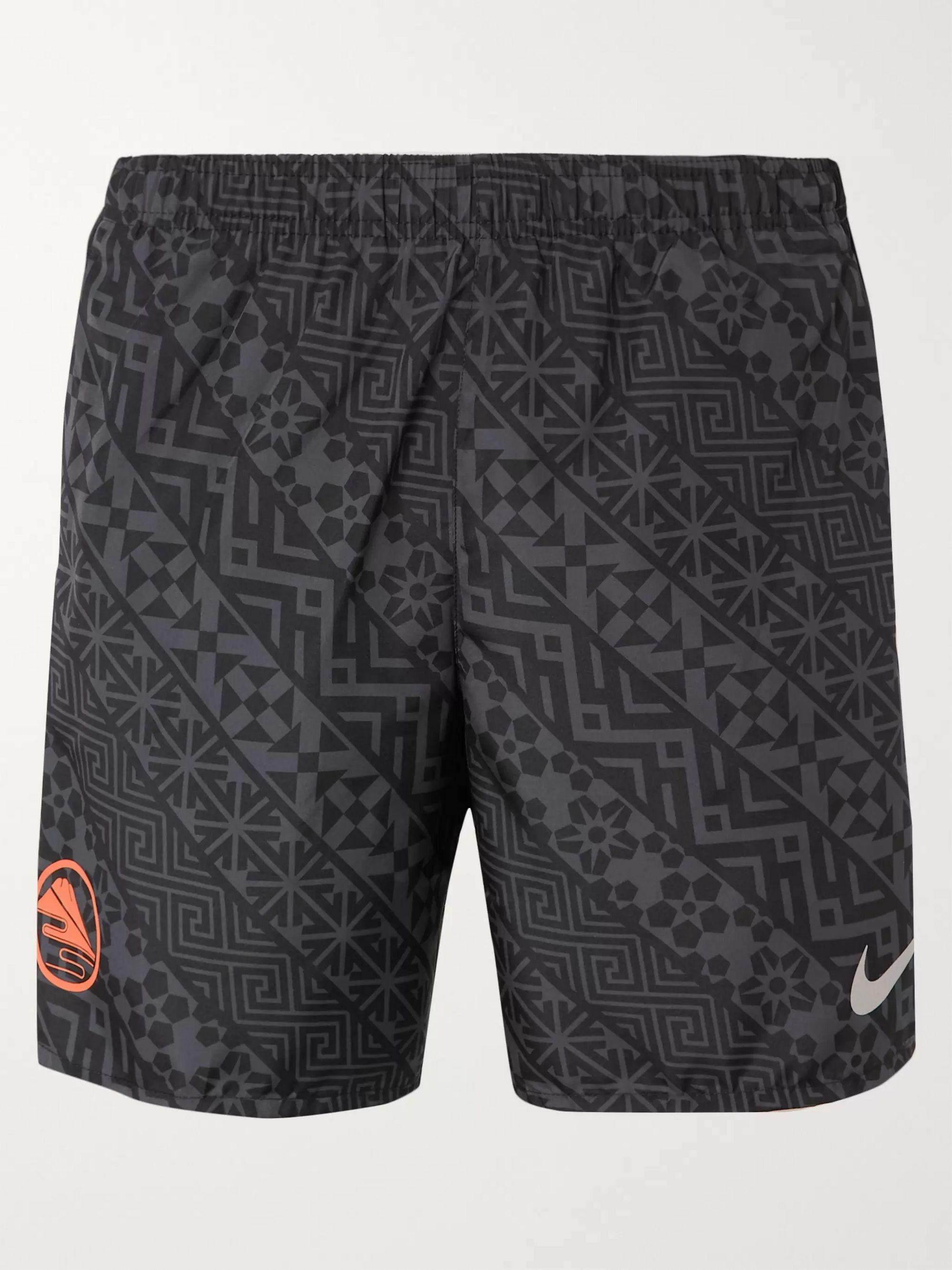 Nike Running Challenger Printed Dri-FIT Shorts
