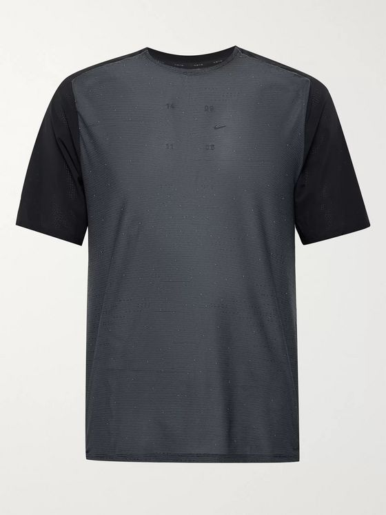 Nike Running Tech Pack Panelled Mesh Running T-Shirt