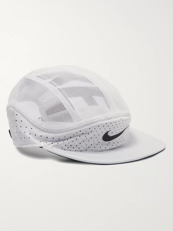Nike Running AeroBill Tailwind Perforated Shell and Mesh Dri-FIT Cap