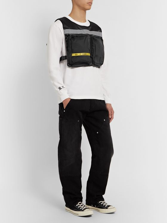 Neighborhood + Eastpak Logo-Detailed Nylon Vest