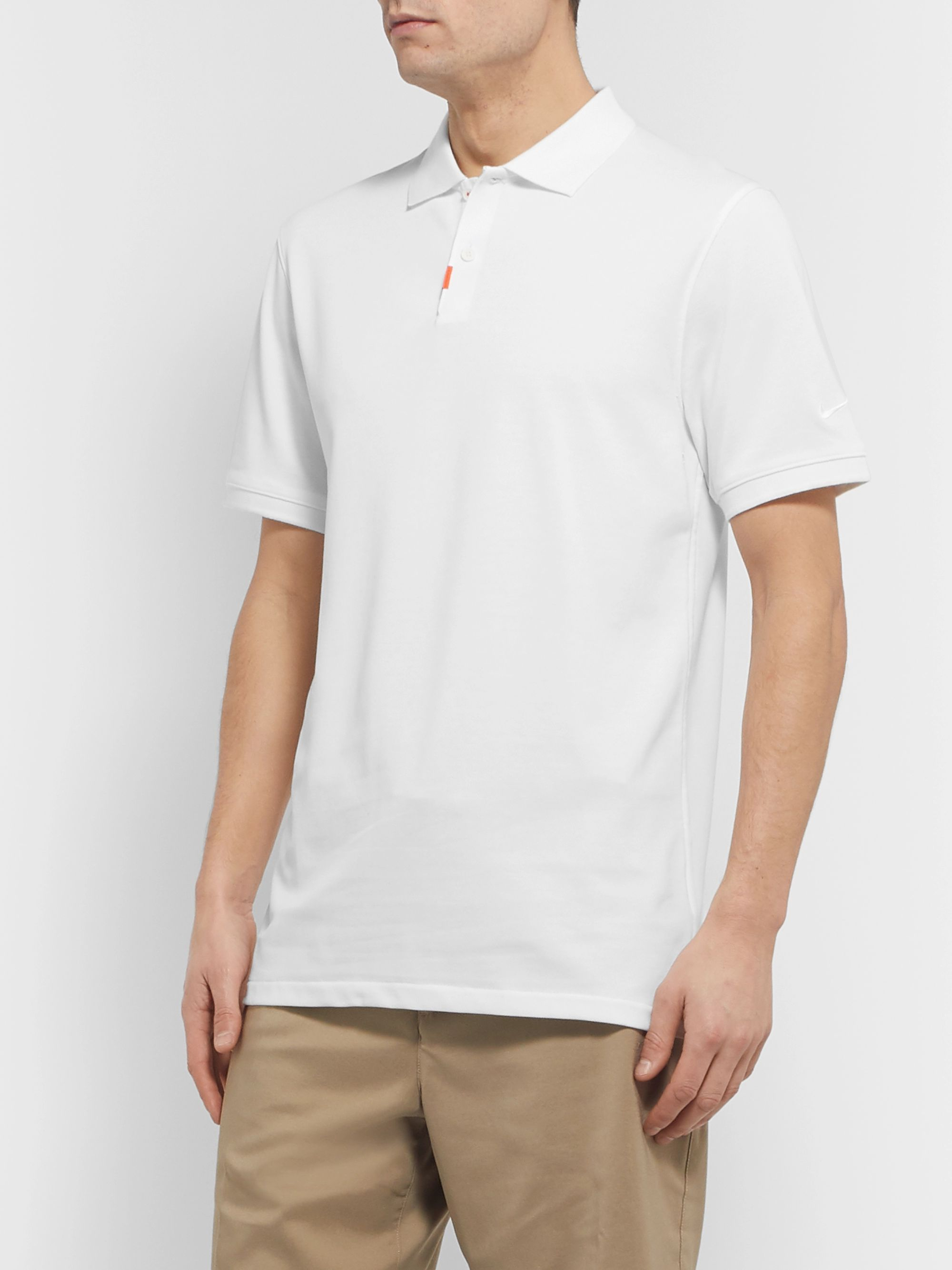 Nike Golf Dri-FIT Cotton-Blend Piqué Golf Polo Shirt