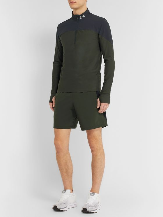 Under Armour Qualifier HeatGear Half-Zip Running Top