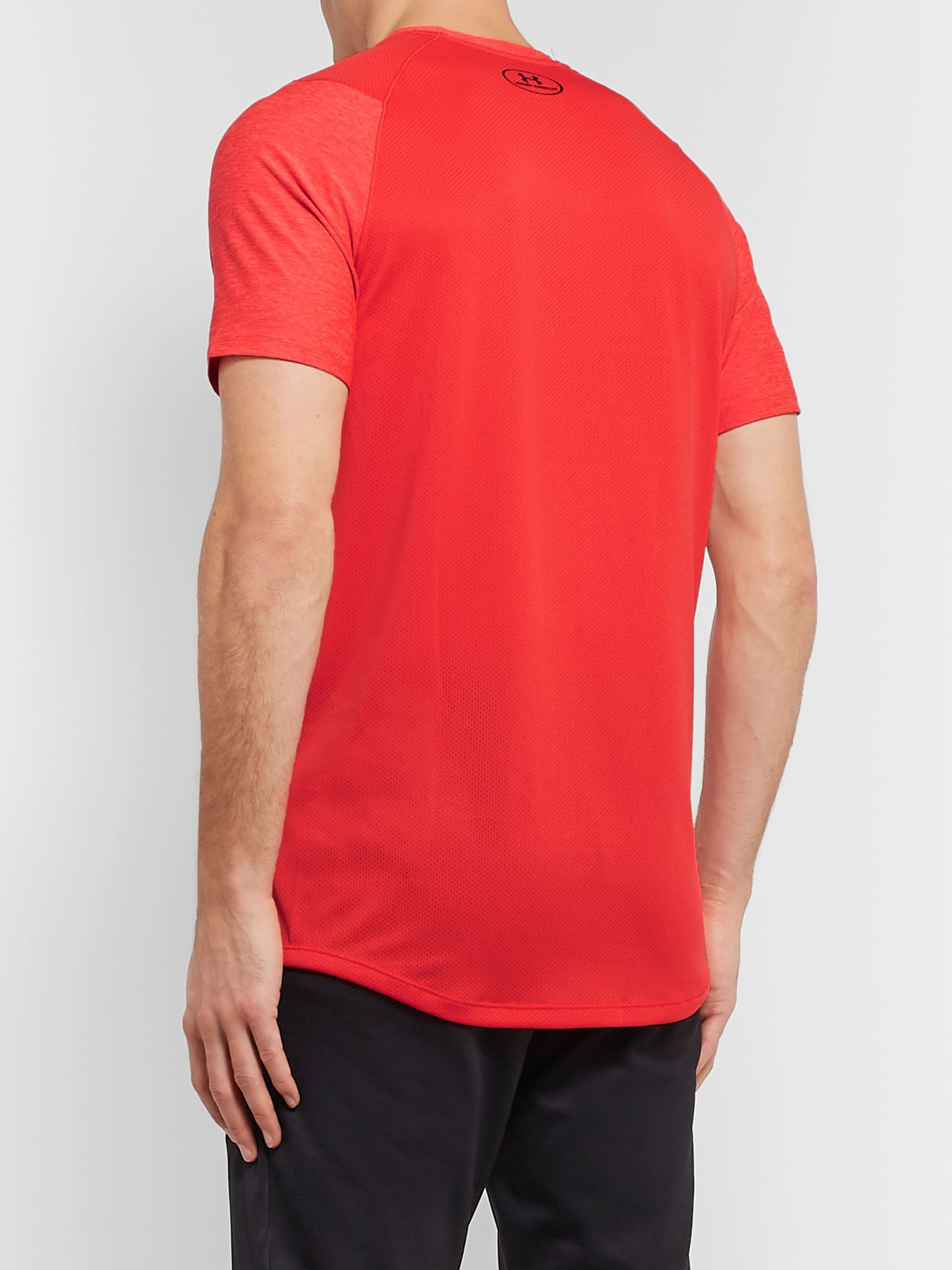 Under Armour MK-1 Mélange HeatGear T-Shirt