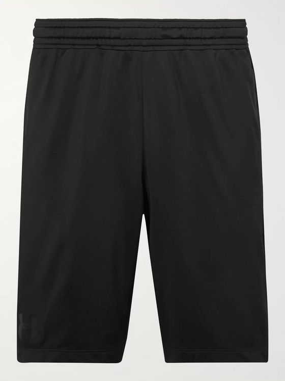 Under Armour MK-1 Wordmark Mesh-Panelled HeatGear Shorts