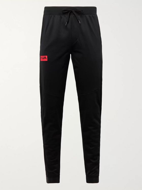 Under Armour Gametime Slim-Leg Tapered Fleece-Back Jersey Sweatpants