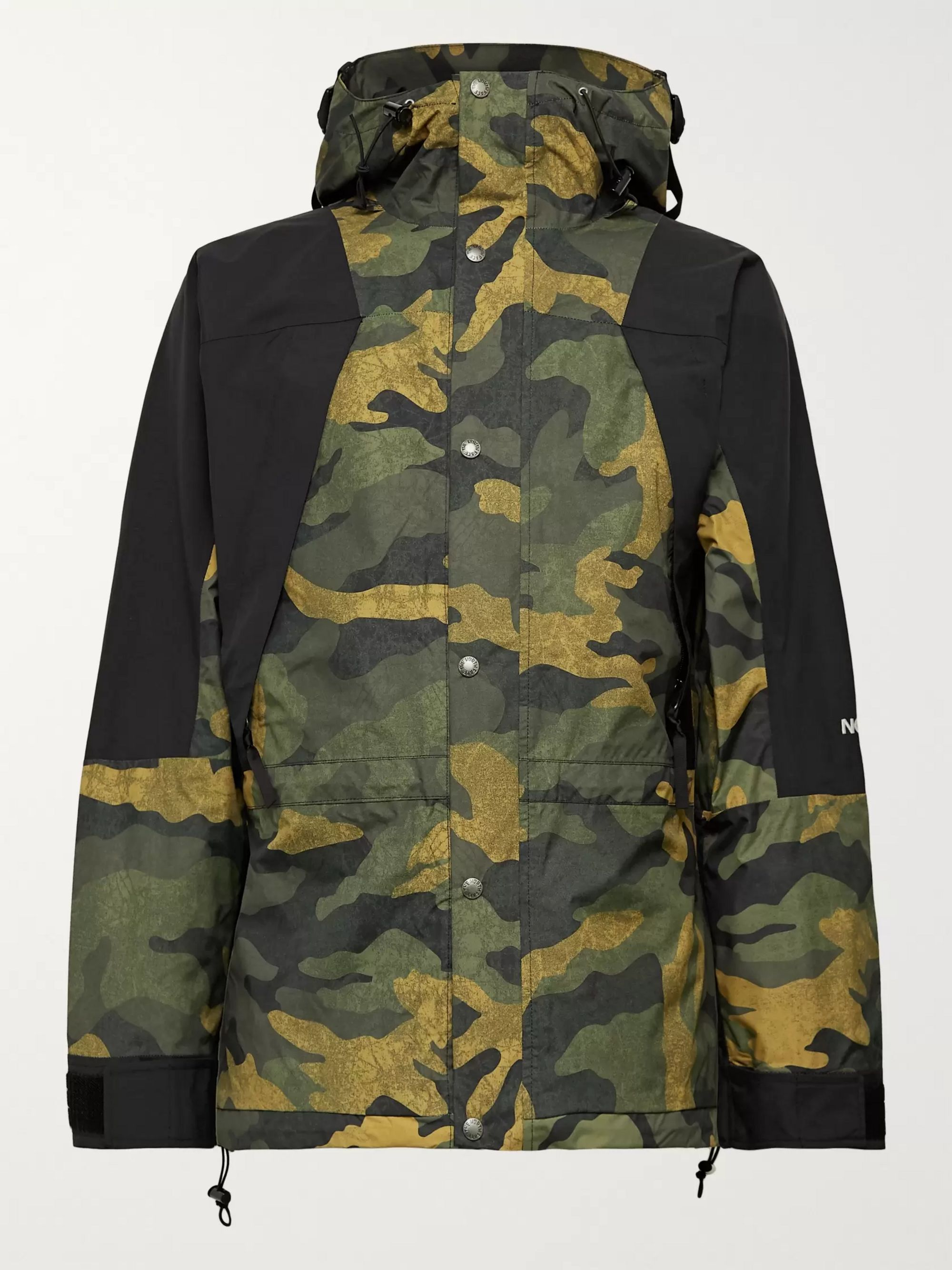 The North Face 1994 Seasonal Retro Panelled Camouflage-Print GORE-TEX Jacket