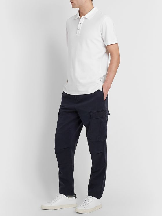 Reigning Champ Cotton-Piqué Polo Shirt