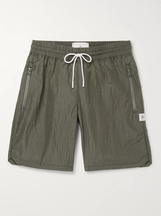 Reigning Champ Nylon Drawstring Shorts