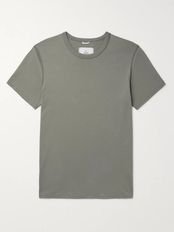 Reigning Champ Pima Cotton-Jersey T-Shirt