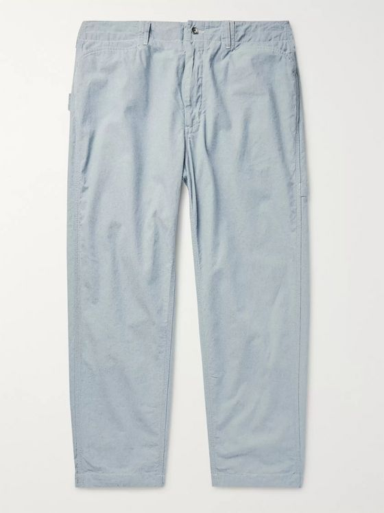 Engineered Garments Cotton-Chambray Trousers