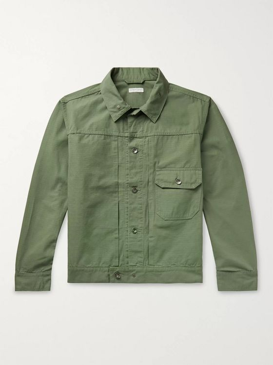 Engineered Garments Cotton-Ripstop Trucker Jacket
