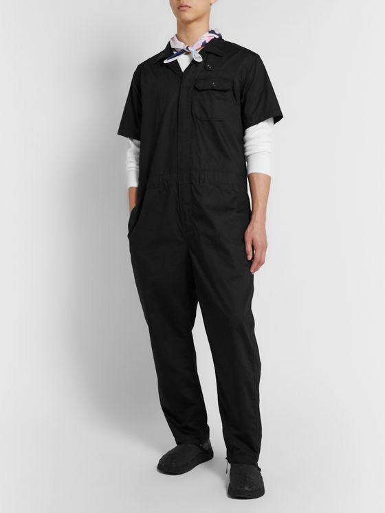 Engineered Garments Cotton-Twill Jumpsuit