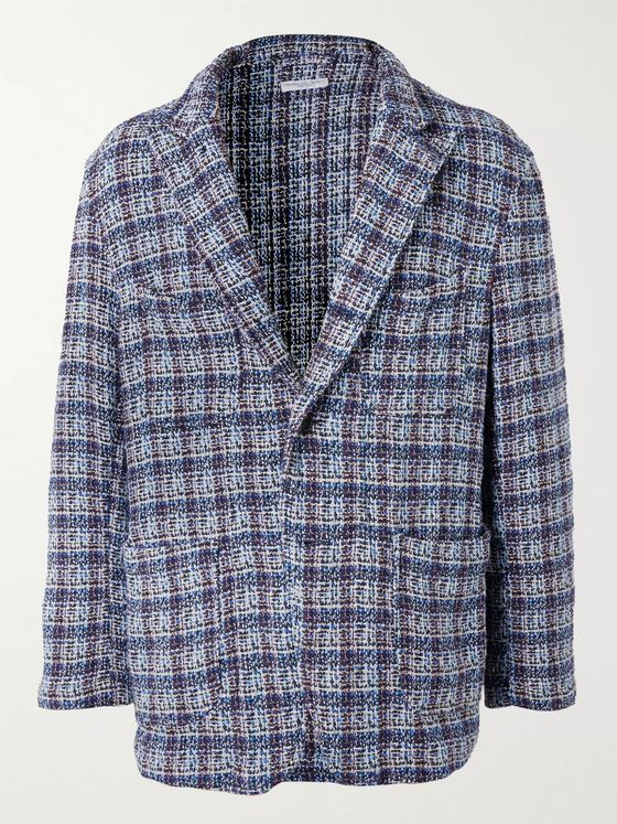 Engineered Garments Unstructured Cotton-Blend Tweed Blazer