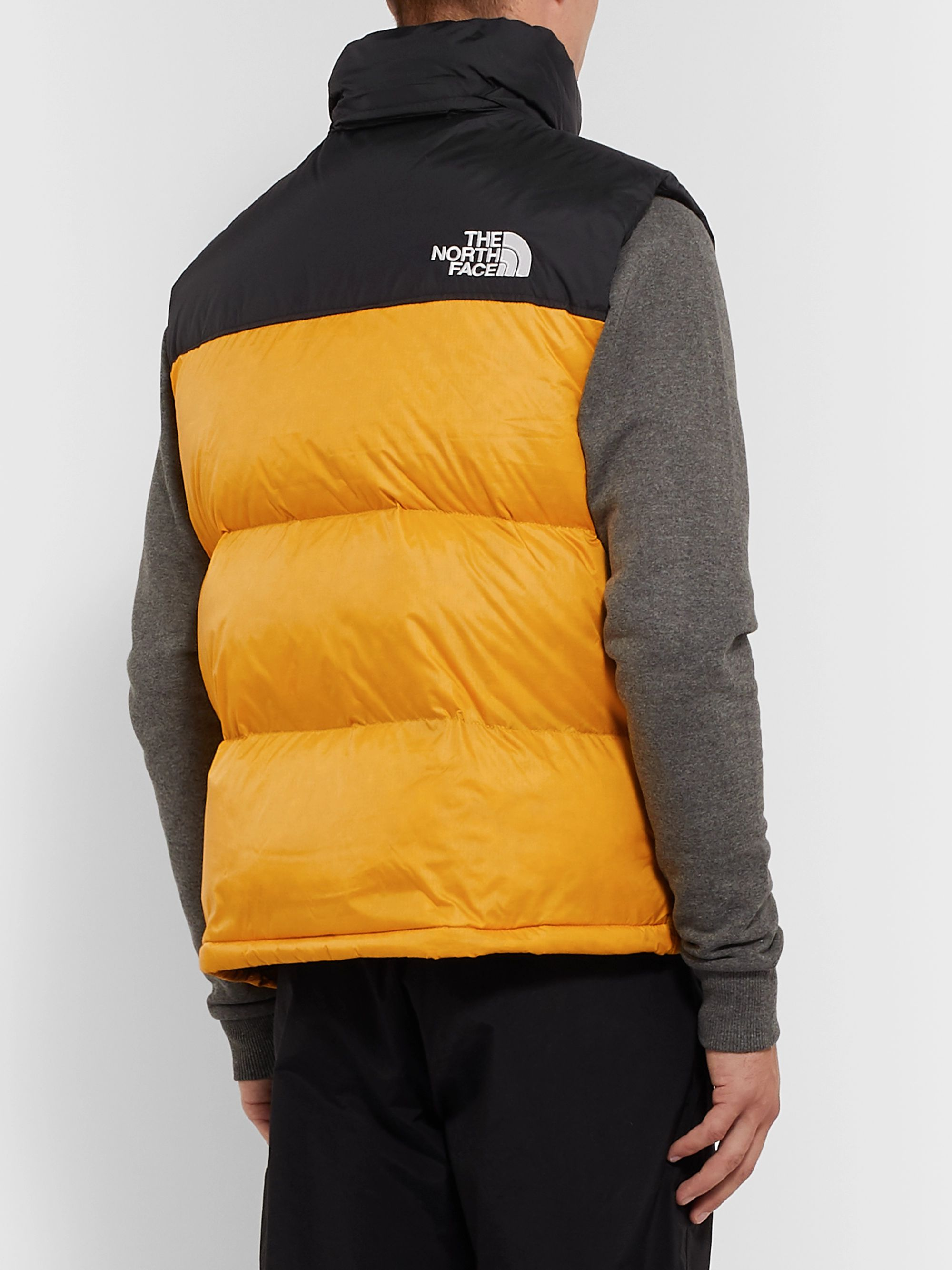 The North Face 1996 Retro Nuptse Colour-Block Quilted Shell Down Gilet