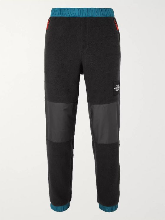 The North Face Denali Tapered Panelled Fleece and Shell Trousers