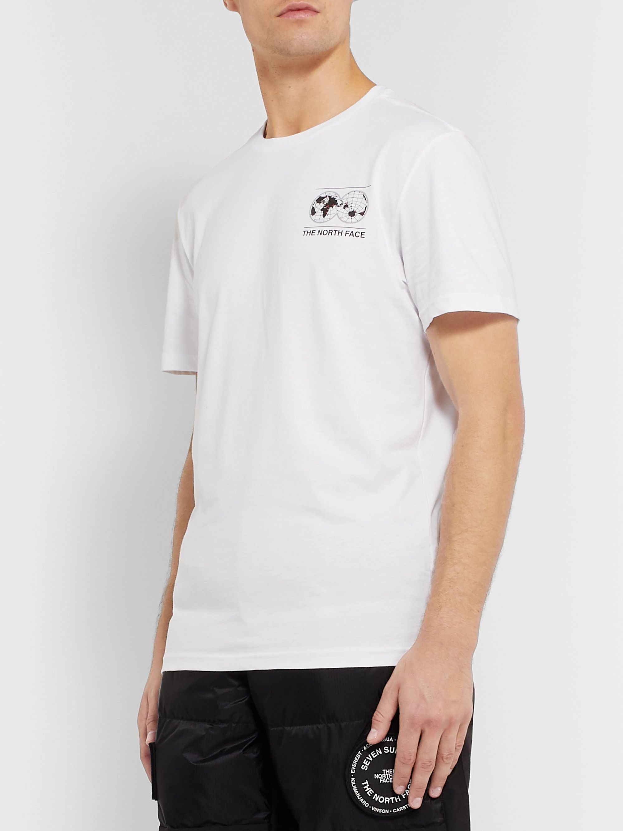 The North Face Printed Cotton-Jersey T-Shirt