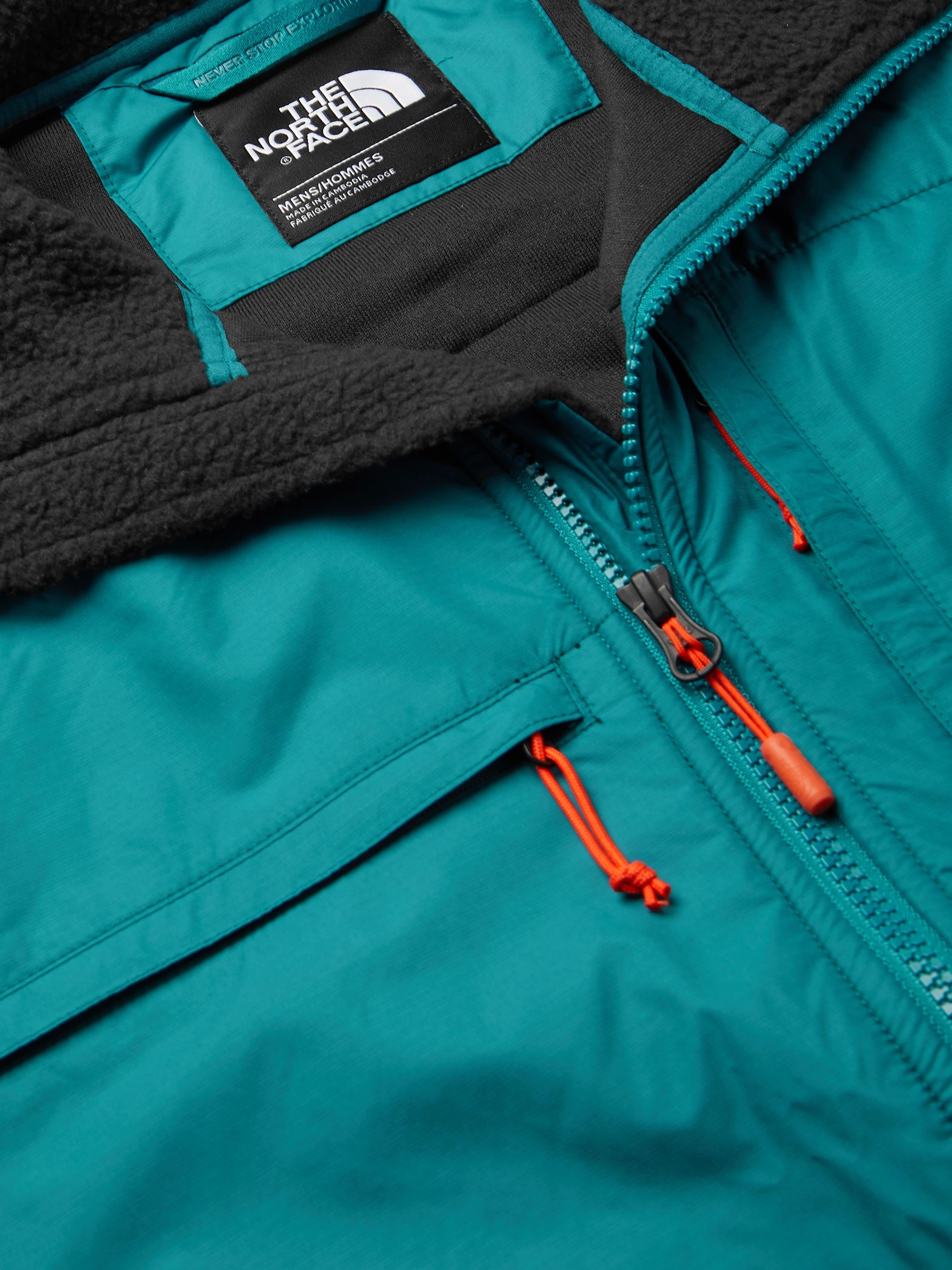 The North Face Denali Panelled Fleece and Shell Jacket