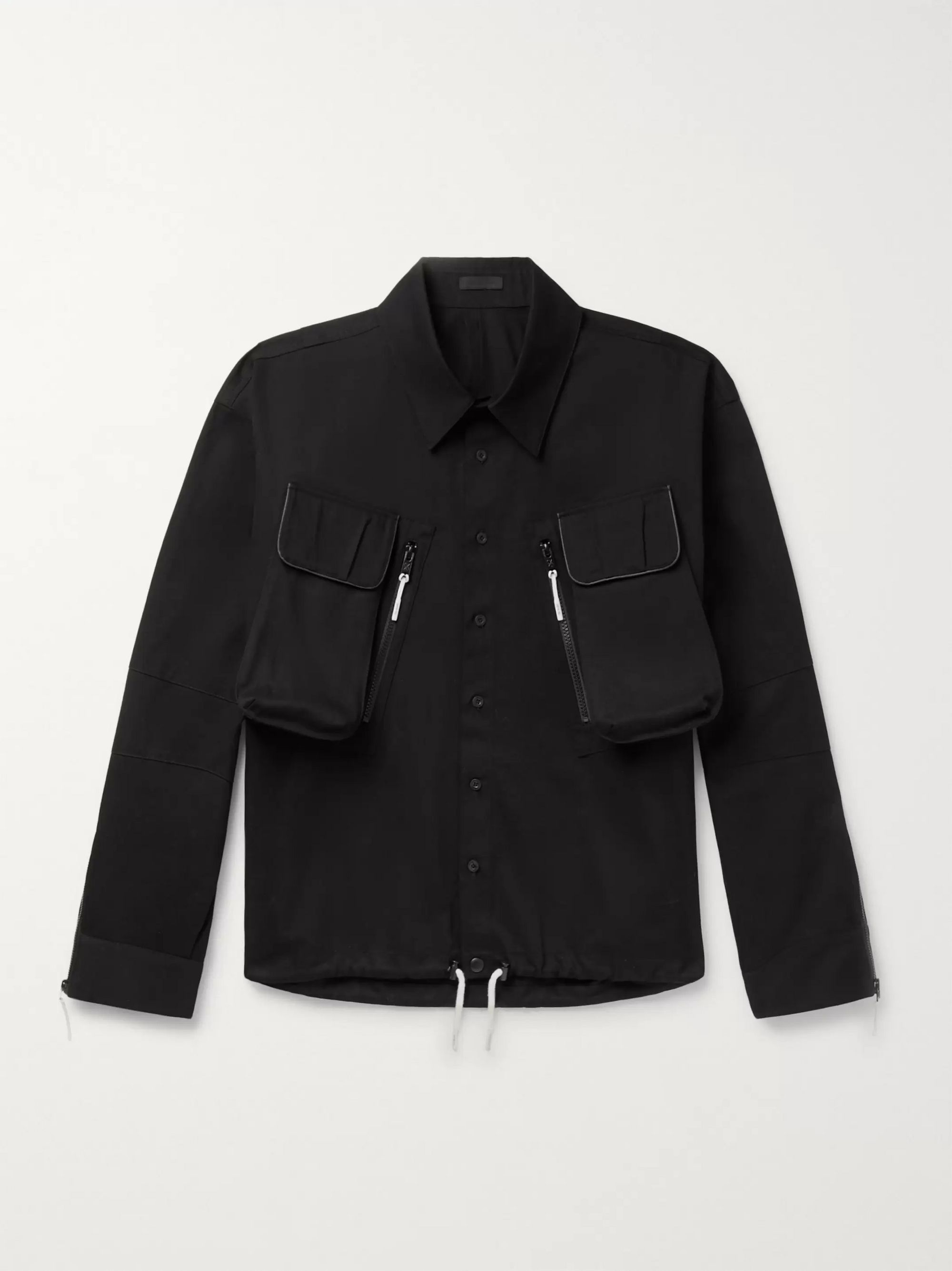 99%IS- Oversized Cotton-Twill Jacket