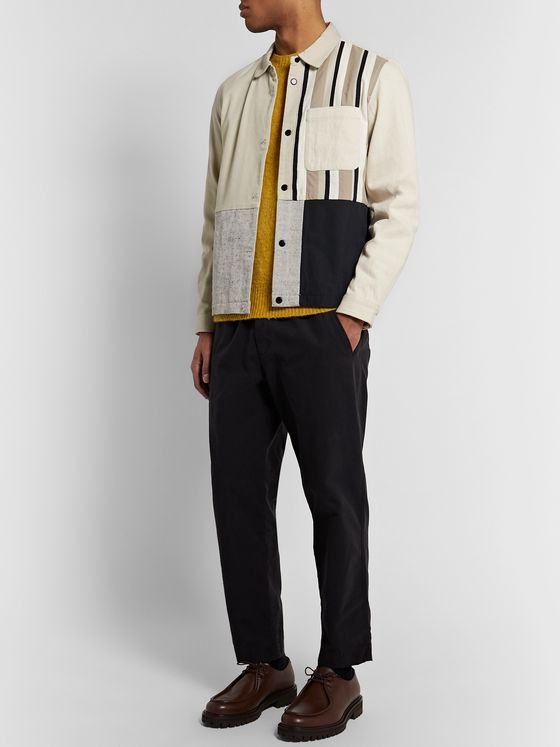 Folk Panelled Cotton-Blend Jacket