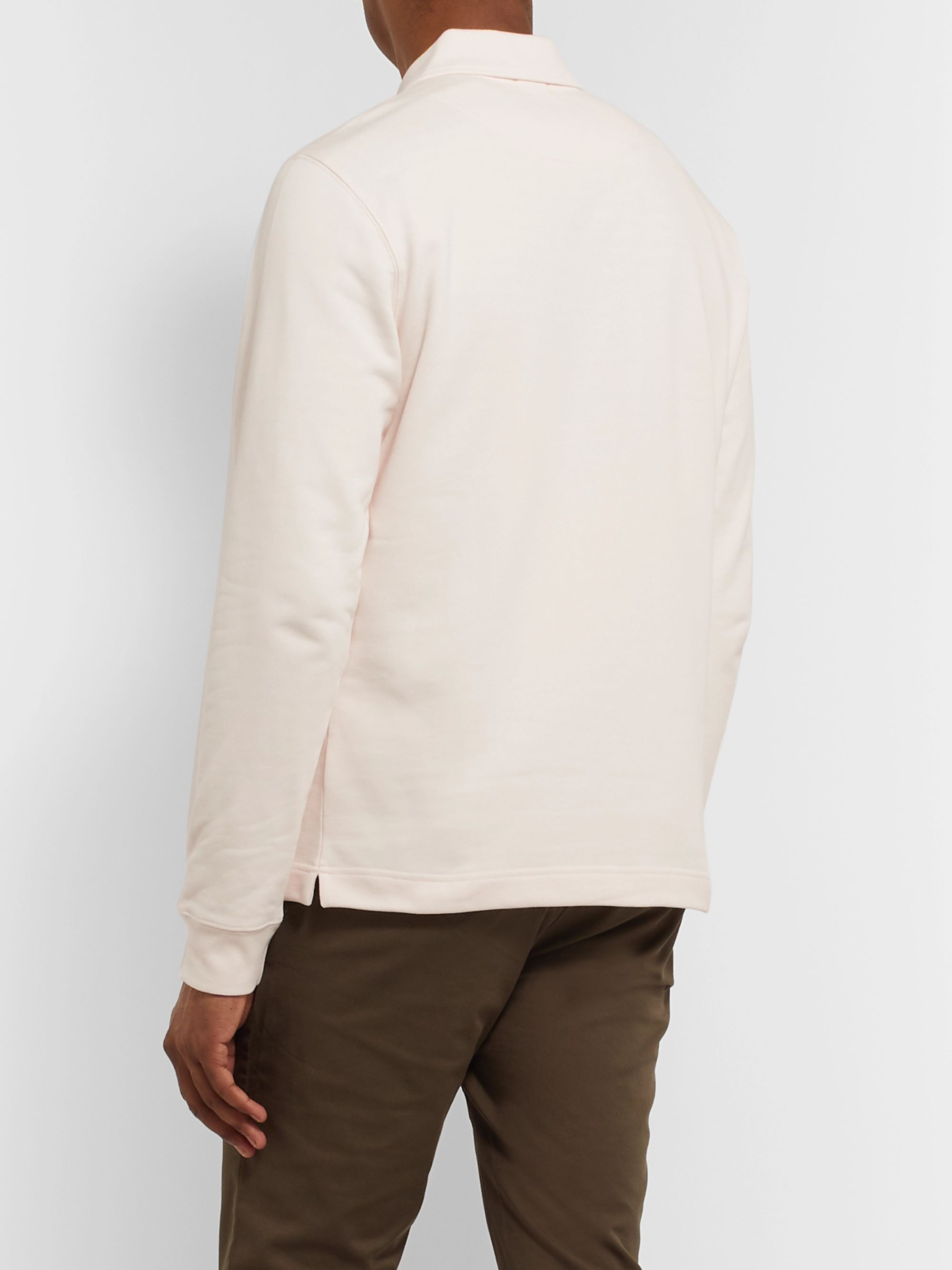 Norse Projects Jorn Loopback Cotton-Jersey Half-Zip Sweatshirt