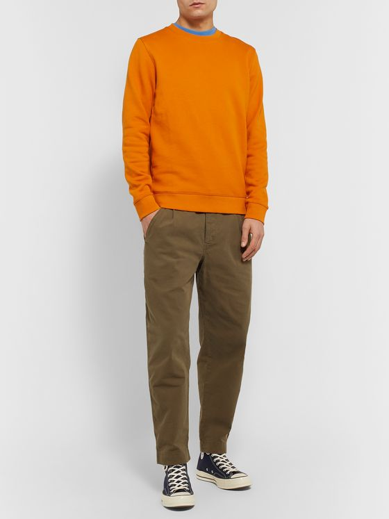 Norse Projects Vagn Loopback Cotton-Jersey Sweatshirt