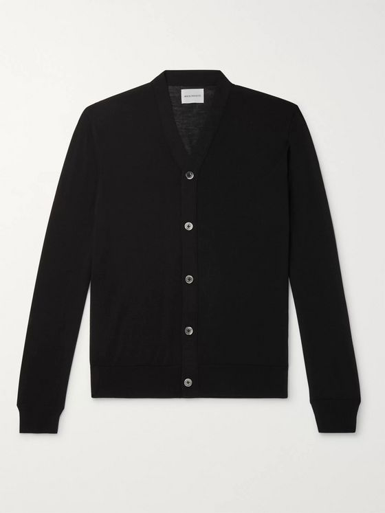 Norse Projects Adam Merino Wool Cardigan