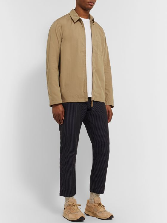 Norse Projects Jens Packable Cotton-Blend Poplin Overshirt