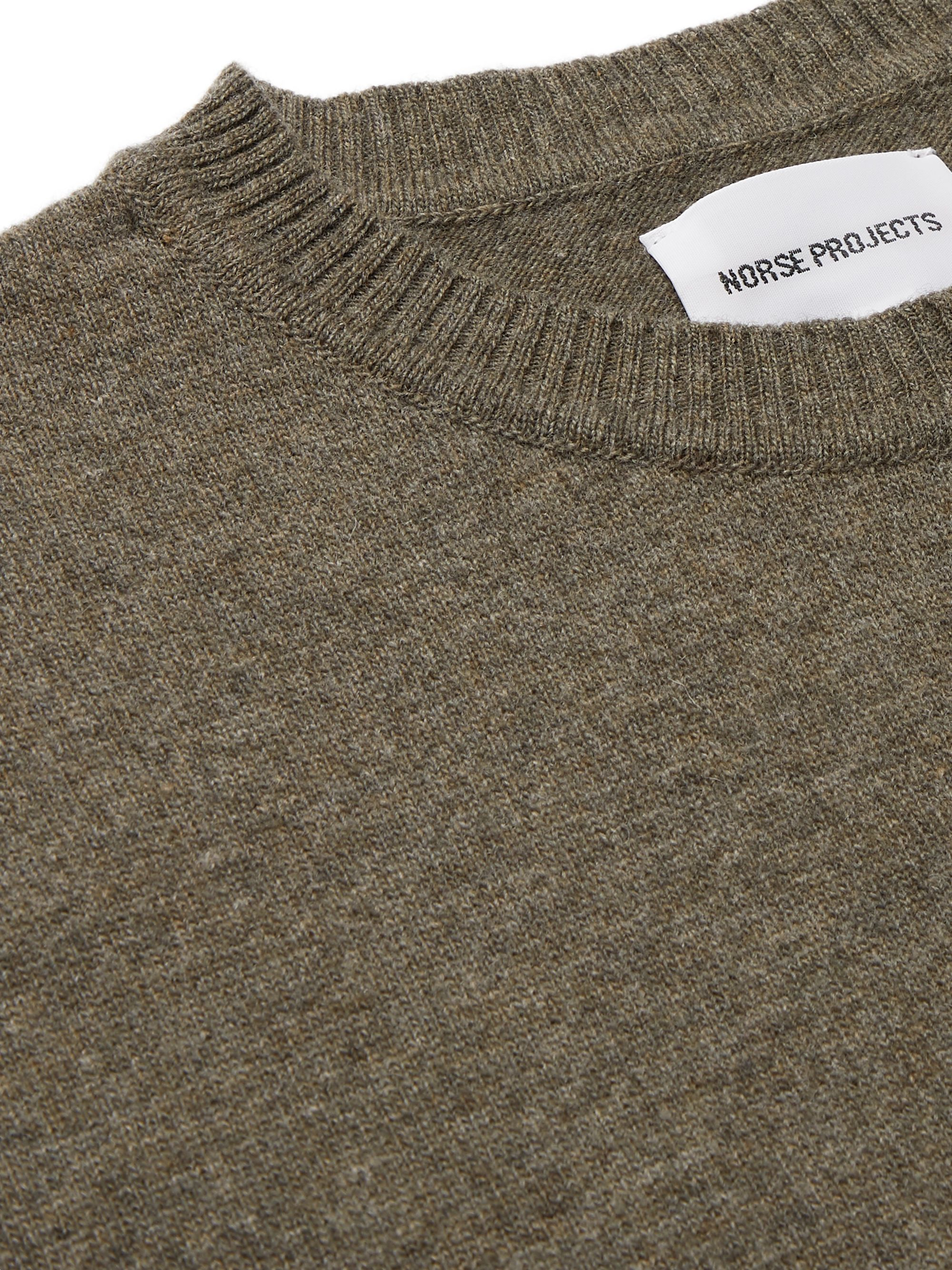 Norse Projects Sigfred Wool Sweater
