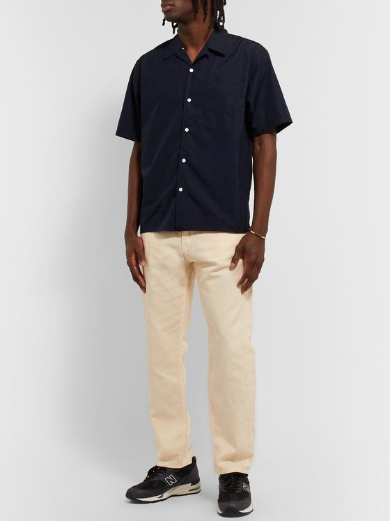 Norse Projects Carsten Camp-Collar Cotton-Poplin Shirt