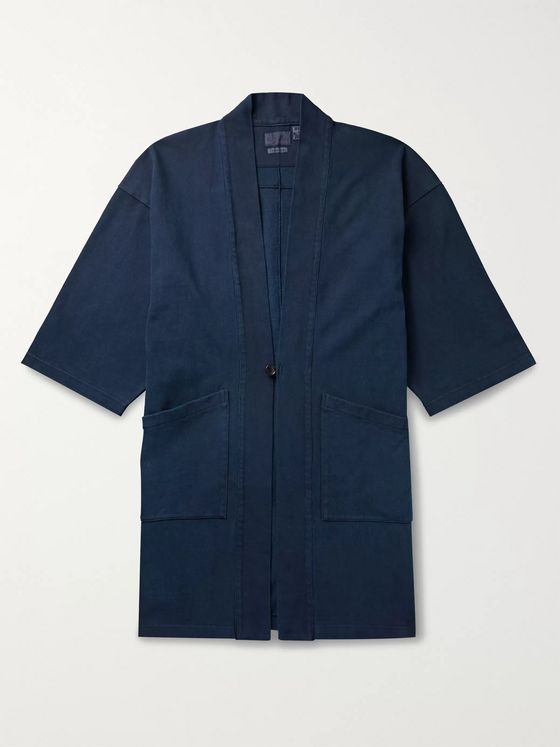 Blue Blue Japan Cotton-Jersey Jacket