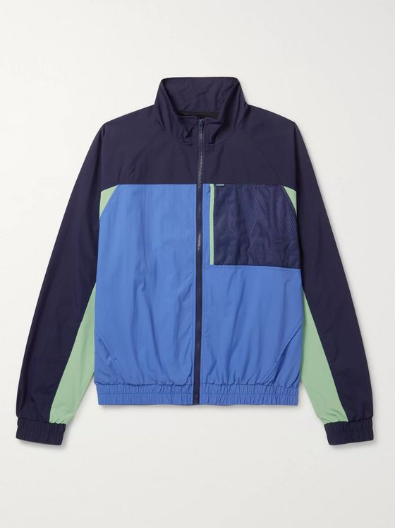 Aimé Leon Dore Colour-Block Mesh-Panelled Nylon Jacket